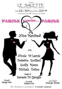 PAROLE D'AMORE...PAROLE