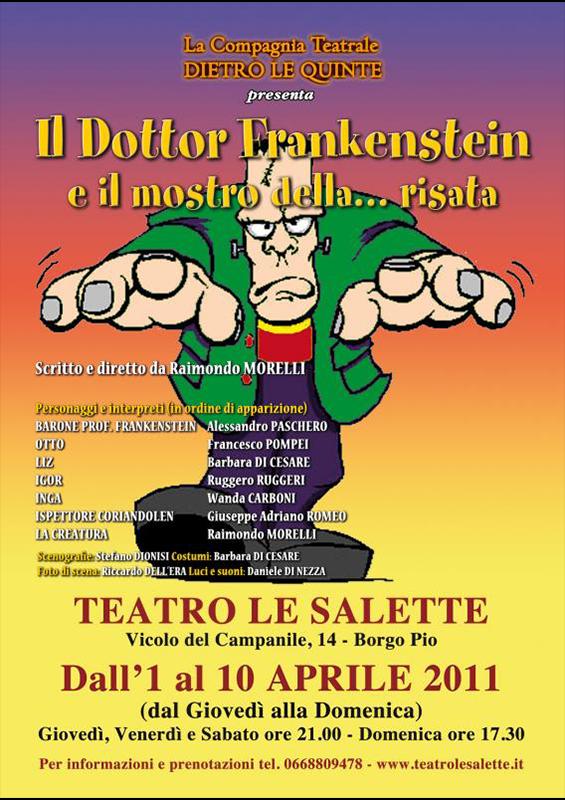 DOTTOR FANKENSTEIN E IL MOSTRO … DELLA RISATA