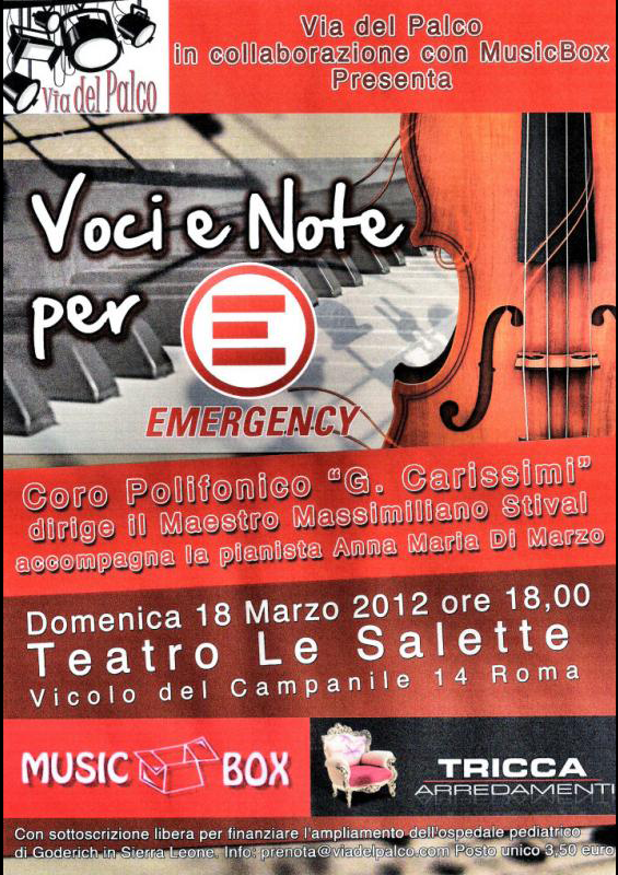 VOCI E NOTE PER EMERGENCY