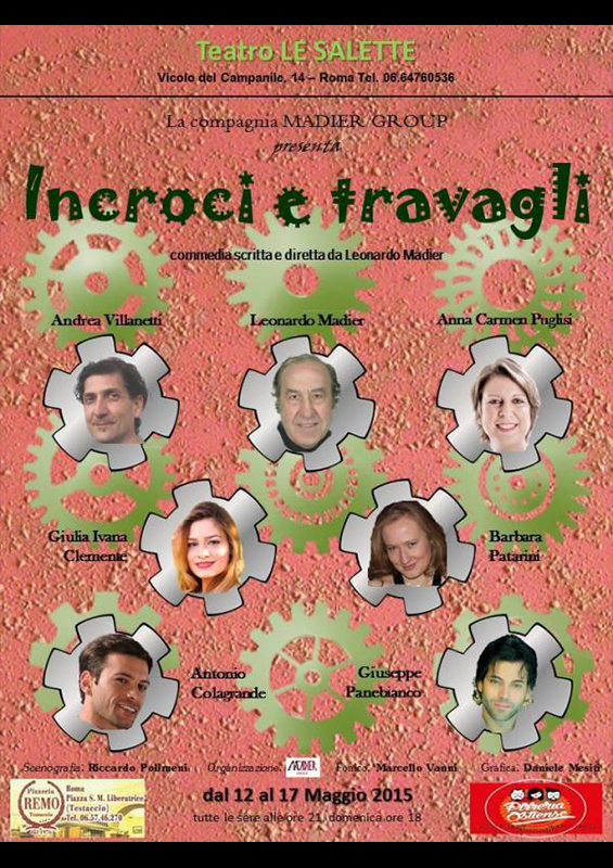 INCROCI E TRAVAGLI