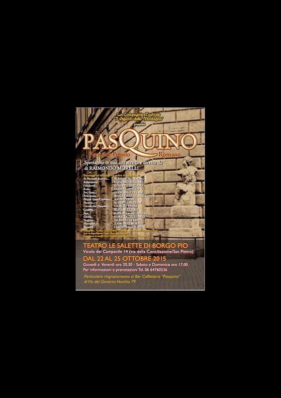 PASQUINO – VOCE DER POPOLO ROMANO
