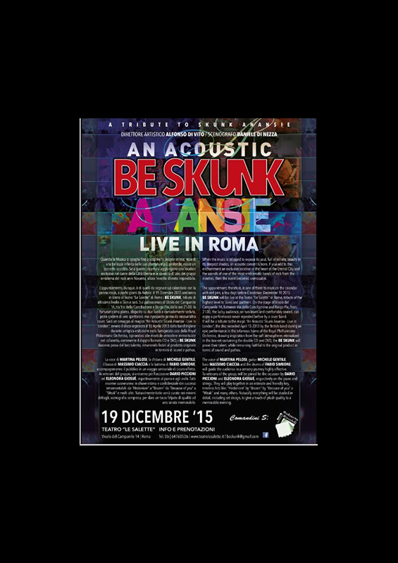 AN ACOUSTIK BE SKUNK ANANSIE LIVE IN ROMA