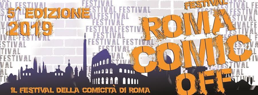 ROMA COMIC OFF – 5^EDIZIONE – 2019